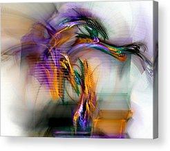 Sacred Digital Art Acrylic Prints