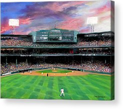 Boston Baseball Stadiums Acrylic Prints