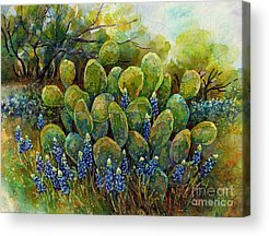 Hot Spring Acrylic Prints