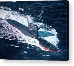 Uss George Washington Acrylic Prints
