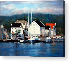 Farsund Norway Acrylic Prints