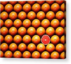 Grapefruit Acrylic Prints