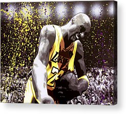 La Lakers Acrylic Prints