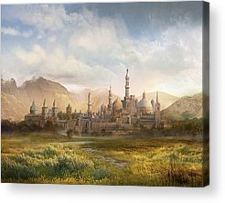 Warcraft Acrylic Prints