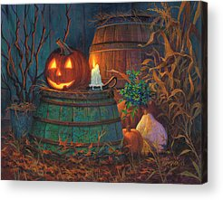Fall Scene Acrylic Prints