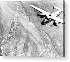 B-25 Bomber Acrylic Prints