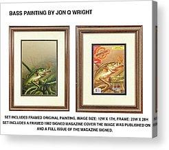 Bass Acrylic Prints