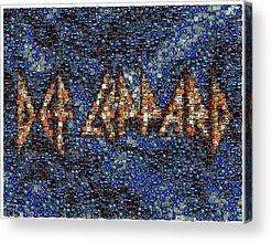 Def Leppard Acrylic Prints