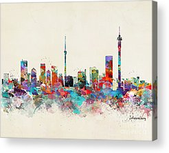 South Africa Acrylic Prints