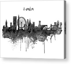 The City Of London Acrylic Prints