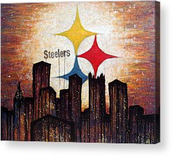 Games Paintings Acrylic Prints