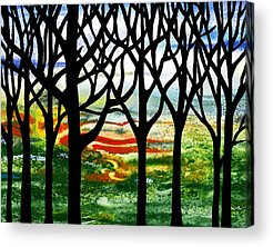 Into The Woods Acrylic Prints