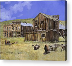 Bodie Ghost Town Acrylic Prints