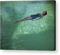 Swimming Pool Acrylic Prints