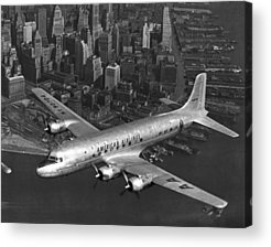 American Airlines Acrylic Prints