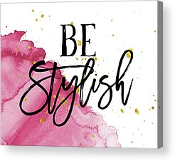 Style Acrylic Prints