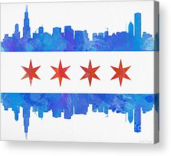 Flag Acrylic Prints