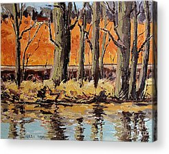 Indiana Winters Paintings Acrylic Prints