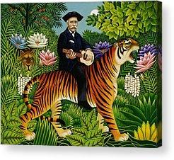 Fanciful Cat Acrylic Prints