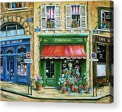 Flower Shop Acrylic Prints