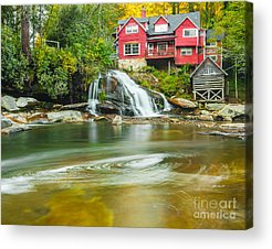 Mill Shoals Falls Acrylic Prints