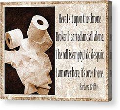 Andee Design White Acrylic Prints