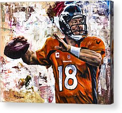 Pro Football Acrylic Prints