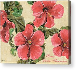 Hibiscus Acrylic Prints