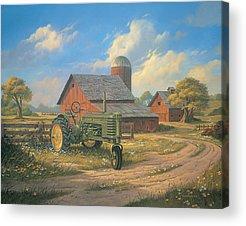 Tractor Acrylic Prints