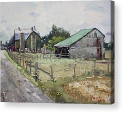 Shack Acrylic Prints