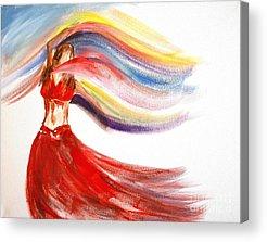 Belly Dancing Acrylic Prints