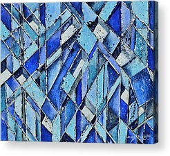 Cubicle Paintings Acrylic Prints