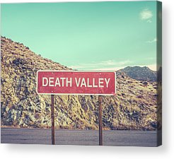 Death Valley Photographs Acrylic Prints