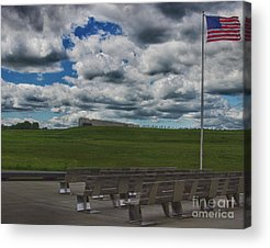 United Airlines Flight 93 Acrylic Prints