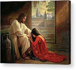 Forgiveness Paintings Acrylic Prints