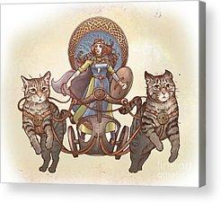 Celtic Mythology Acrylic Prints
