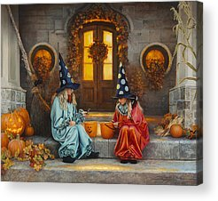 Witch Acrylic Prints