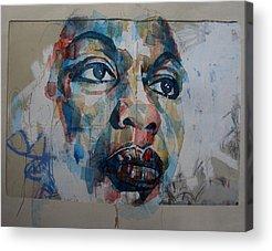 Nina Simone Acrylic Prints