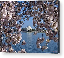 Jefferson Memorial Acrylic Prints