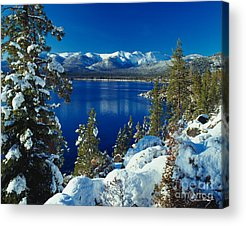 Lake Tahoe Photographs Acrylic Prints
