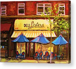 Outremont Acrylic Prints