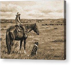 Open Range Acrylic Prints