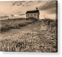 Old School Houses Photographs Acrylic Prints