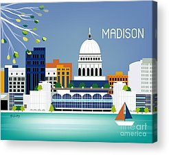 Capitol Building Acrylic Prints