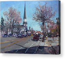 Main Street Acrylic Prints