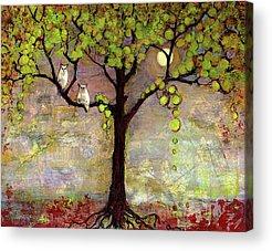 Mixed Media Art Acrylic Prints