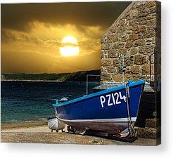 Sennen Cove Acrylic Prints