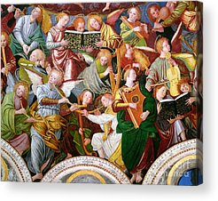 Playing Musical Instruments Acrylic Prints