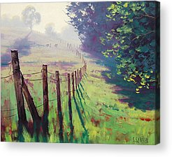 Fences Acrylic Prints
