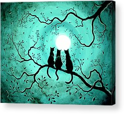 Wiccan Acrylic Prints